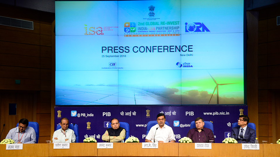 2nd Global RE-INVEST Press Conference, 25 Sep 2018